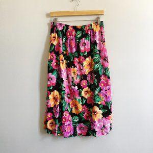 NWT Gymboree Flower Blossom Asian Red Corduroy Skirt 3